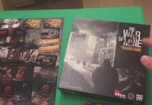 Hráč Kubrt představuje This War of Mine: The Board Game