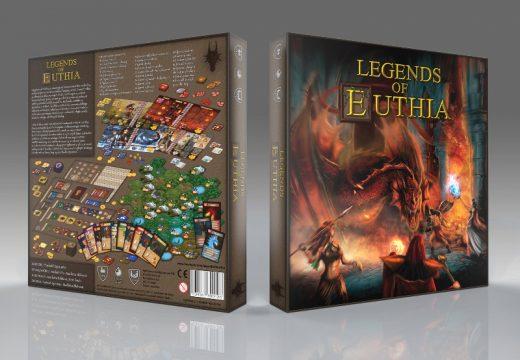 Představujeme deskovou RPG hru Legendy země Euthie, která se chystá na HitHit