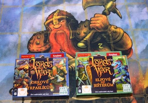 Lords of War jsou připraveni k bitvě na vašem stole