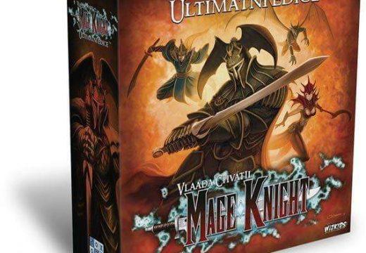 REXhry již mají ultimátní edici deskové hry Mage Knight
