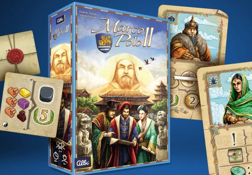 Strategická hra Marco Polo II právě dorazila