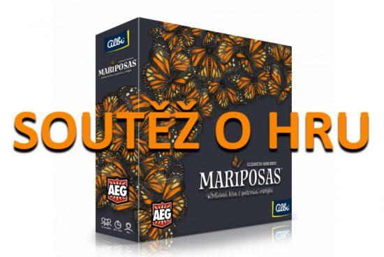 Soutěž o hru Mariposas