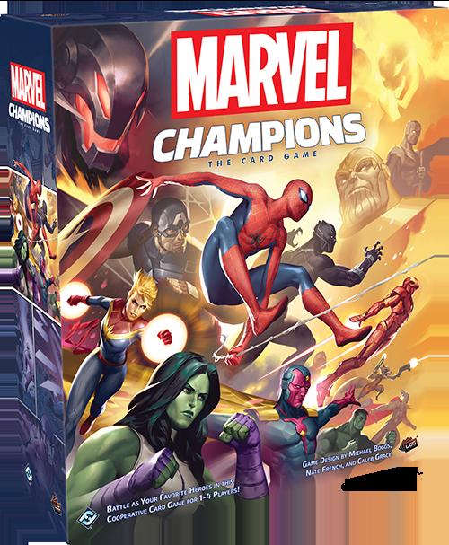 Blackfire vydá novou karetní hru Marvel Champions a Arkham Horror: Final Hours