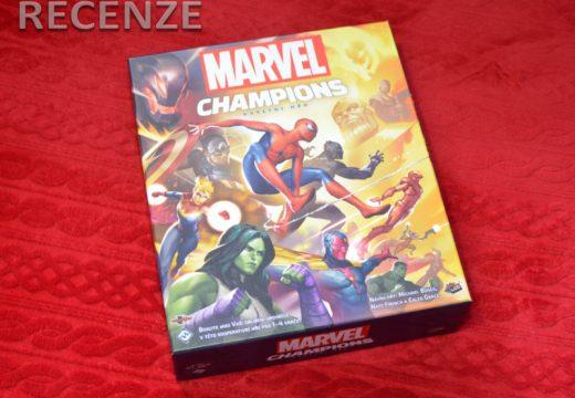 Recenze: Marvel Champions – karetní hra