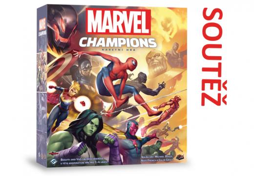 Soutěž o karetní hru Marvel Champions