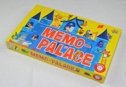 Memo Palace je veselá dětská hra trénující paměť a slovní zásobu