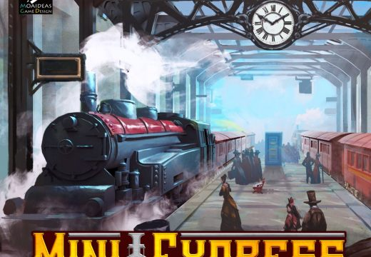 BoardBros připravuje vláčkovou hru Mini Express