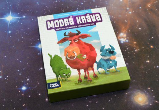 Modrá kráva je postřehová párty hra, která se proměňuje