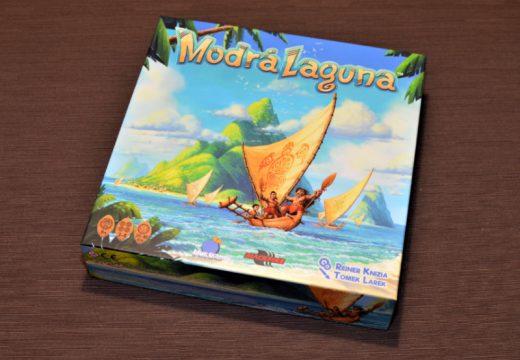 Modrá laguna je nová rodinná hra od Reinera Knizii