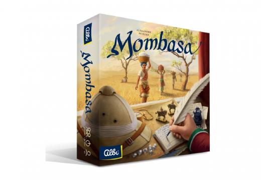 Mombasa je hra pro náročné hráče, která vás zavede obchodovat do Afriky