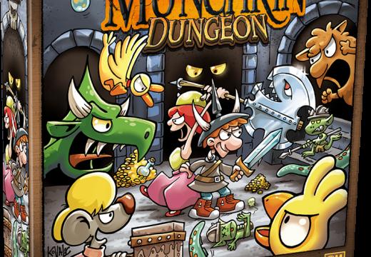 Munchkin Dungeon bude jako deskovka a vyjde v češtině
