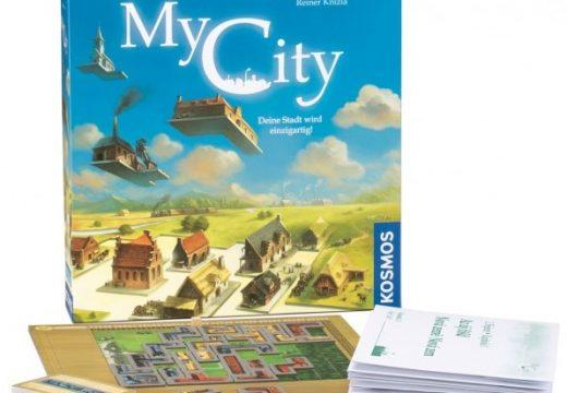 My City je rodinná legacy hra od Reinera Knizii