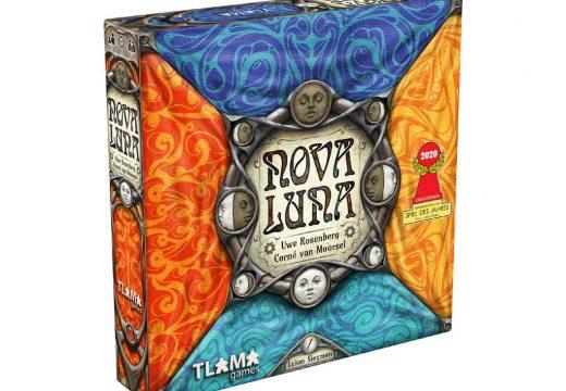 Rodinou abstraktní hru Nova Luna vydá TLAMA games