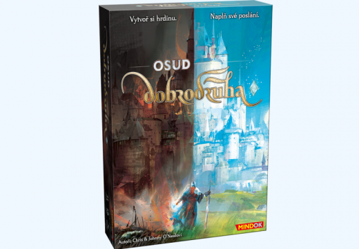 MindOK vydá hru Call to Adventure pod názvem Osud dobrodruha