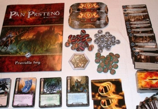 Recenze: Pán prstenů – karetní hra