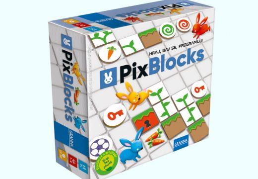 PixBlocks je logická hra, která učí děti programovat