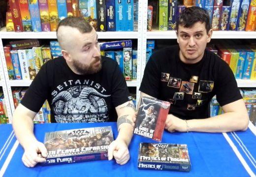Planeta her představuje tři rozšíření ke hře Blood Rage