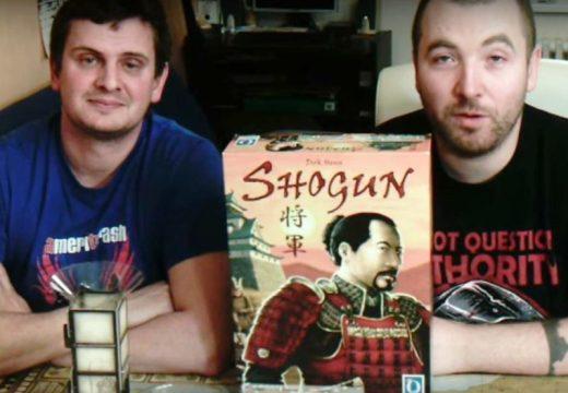 Planeta her představuje strategickou hru Shogun