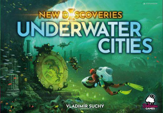 Vláďa Suchý píše o tvorbě rozšíření Podmořských měst a novinky Zachraňte příšerky