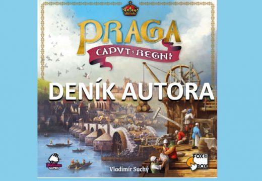 Vláďa Suchý píše o své hře Praga Caput Regni a o jejím vývoji