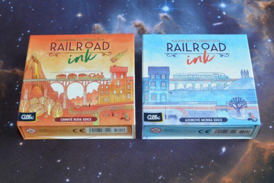 Railroad Ink je příjemná kostkovka ve dvou variantách
