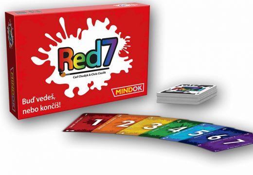 Soutěž o karetní hru Red7