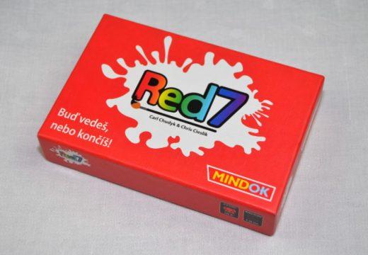 V karetní hře Red7 buď vedeš, nebo končíš