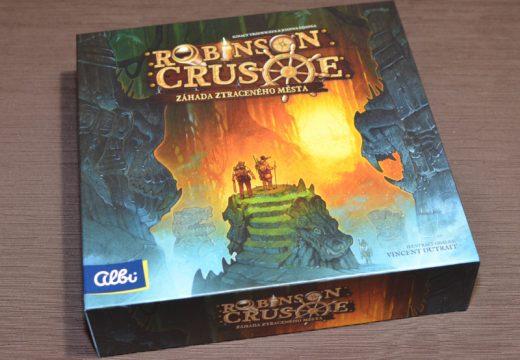 Robinson Crusoe se vydává do ztraceného města