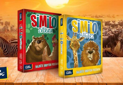 Hru Similo doplní varianty Zvířata a Safari