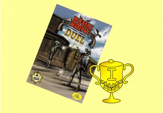 Vítěz v soutěži o hru Bang! DUEL