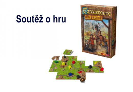 Soutěž o hru Carcassonne: Zlatá horečka