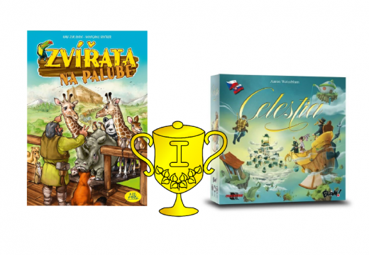 Výsledky soutěží o hru: Zvířata na palubě a Celestia