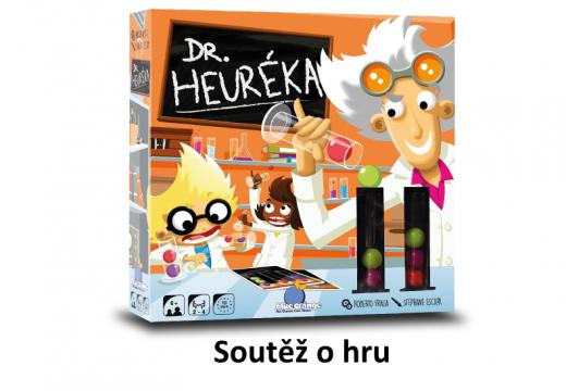 Soutěž o akční hru Dr. Heuréka