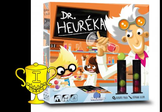 Vítěz v soutěži o hru Dr. Heuréka