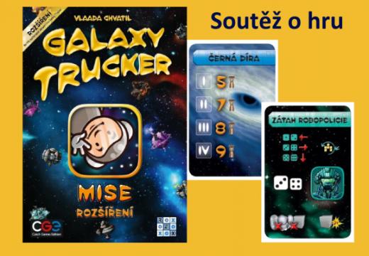Soutěž o rozšíření hry Galaxy Trucker: Mise