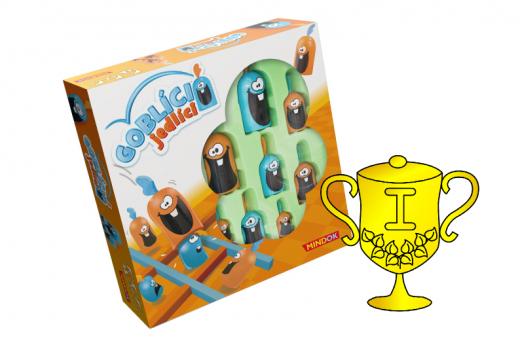 Vítěz v soutěži o hru Goblíci jedlíci