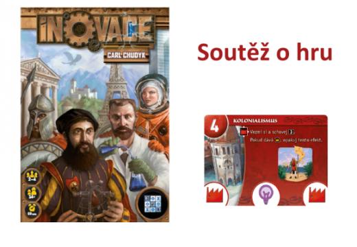 Soutěž o karetní civilizační hru Inovace