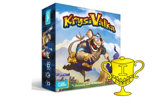 Vítěz v soutěži o hru Krysí válka