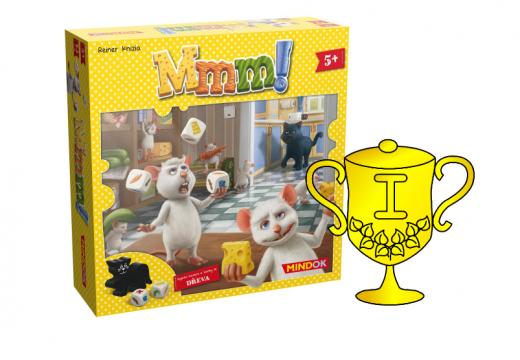 Výsledky soutěže o rodinnou hru Mmm!