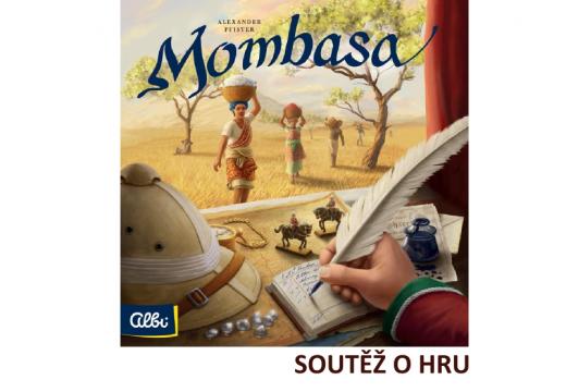 Soutěž o strategickou hru Mombasa