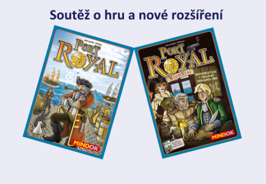 Soutěž o hru Port Royal a nové rozšíření
