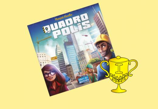 Vítěz soutěže o hru Quadropolis