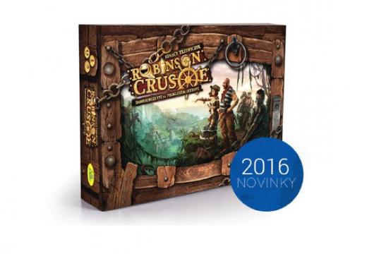 Soutěž o novinku Robinson Crusoe: Dobrodružství na prokletém ostrově