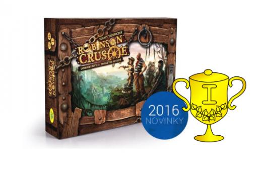 Vítěz soutěže o hru Robinson Crusoe: Dobrodružství na prokletém ostrově