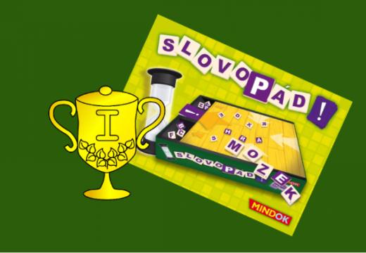 Vyhlášení vítěze v soutěži o hru Slovopád!