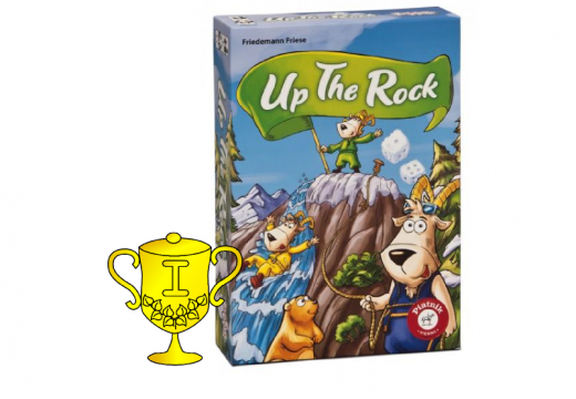 Vítěz v soutěži o hru Up The Rock