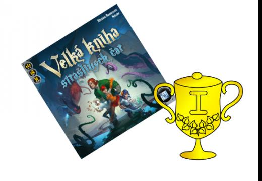 Vítěz soutěže o hru Velká kniha strašlivých čar