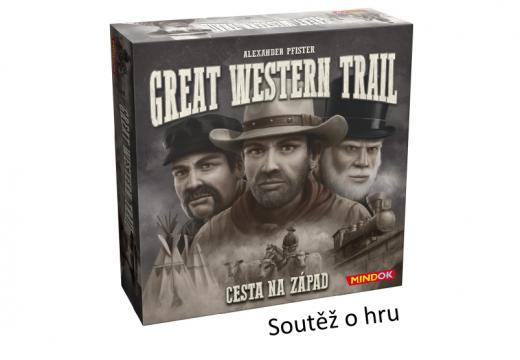 Soutěž o strategickou hru Great Western Trail: Cesta na západ
