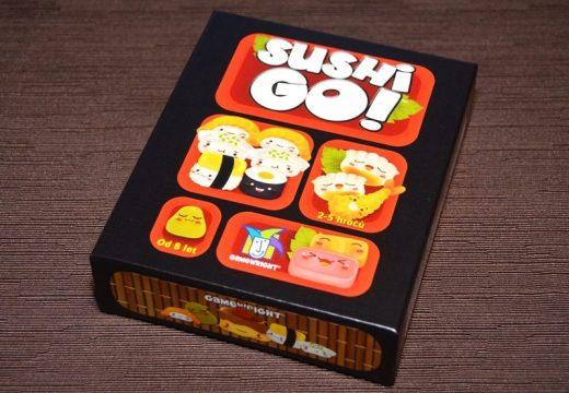 Nejlepší sushi si dáte v Sushi Go!