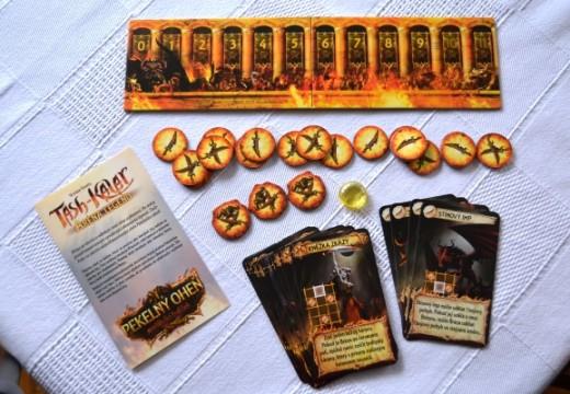 Pekelný oheň přináší do hry Tash-Kalar démonickou magickou školu